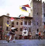 Flaf throwing - Massa Marittima